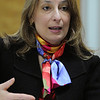 Lori Ehrlich, Marblehead state representative, at the Salem News.<br /> Photo by Ken Yuszkus/Salem News, Wednesday,  October 6, 2010.