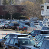 Peabody: A security tower rose high above a sea of cars in the parking lot at the North Shore Mall as thousands flocked to the local shopping mall for Black Friday deals. David Le/Salem News