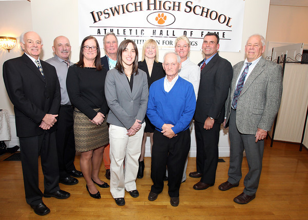 Ipswich: The 2013 Ipswich High School Athletic Hall of Fame Inductees. David Le/Salem News