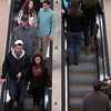 Peabody: Shoppers at the North Shore Mall packed the escalator as they maneuvered around the mall for Black Friday deals. David Le/Salem News