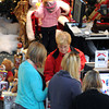Peabody:<br /> Santa Claus meets children at the North Shore Mall.<br /> Photo by Ken Yuszkus / The Salem News, Wednesday, November 13, 2013.