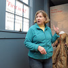 "Marblehead:<br /> Director of the Marblehead Historical Society Pam Peterson talks about the renovations on the 2nd floor of the Marblehead Old Town House. It is set to reopen after many renovations. A big celebration is planned for early December. The Old Town House, built in 1727, is often referred to as ""Marblehead's Cradle of Liberty"" for the many pre-revolutionary war meetings held there. It is one of the oldest town halls in America that has been in continuous use. <br />  Photo by Ken Yuszkus / The Salem News, Wednesday, November 27, 2013."