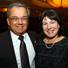 Lynnfield: Dave Gravel and Audrey Gordon at the 82nd Dinner and Ankeles Award Ceremony held by the Peabody Area Chamber of Commerce at Spinelli's on Route 1 in Lynnfield on Wednesday evening. David Le/Salem News