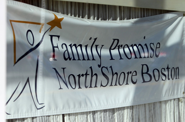 Beverly: Family Promise sign in the window of their location at 330 Rantoul St. in Beverly. David Le/Salem News