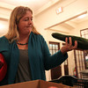 Salem: Salem resident Emily Froeschl picks out a zucchini at the Winter Salem Farmer's Market inside the old City Hall on Thursday afternoon. David Le/Salem News