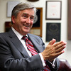 Beverly: Congressman John Tierney speaks with The Salem News on Wednesday at The Salem News office. David Le/Salem News