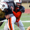Beverly: Beverly senior center and defensive lineman Nate Higgins will look to help the Panthers to a Thanksgiving Day win over rival Salem. David Le/Salem News