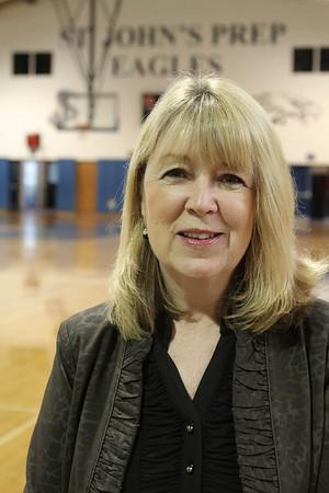 St. John's Prep assistant athletic director Ann Edgerton