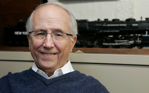 Beverly: Fred Hammond, former Beverly High School history teacher and local historian will receive the Beverly Historical Society's inaugural Beverly History Award. Photo by Mark Lorenz/Salem News