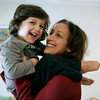 Peabody: Lisa Waxman with her son, Brady at their Peabody home. Lisa, who survived severe postpartum depression recently testified on Beacon Hill in favor of a bill that would make Massachusetts the first state in the country to mandate screening for postpartum depression. Photo by Mark Lorenz/Salem News<br /> , Peabody: Lisa Waxman with her son, Brady at their Peabody home. Lisa, who survived severe postpartum depression recently testified on Beacon Hill in favor of a bill that would make Massachusetts the first state in the country to mandate screening for postpartum depression. Photo by Mark Lorenz/Salem News