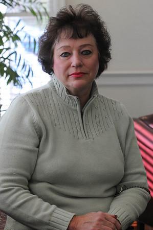 Beverly:<br /> Sandra Earl <br /> Photo by Ken Yuszkus/Salem News, Monday, February 7, 2011.