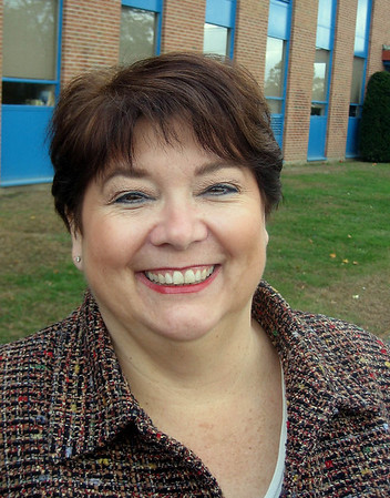 Danvers: Danvers Educational Enrichment Program will honor Paula Gates and add her name to the Hall of Honor for her contribution to the Danversport relief fund to help residents recover from the blast last year. Gates is a member of the Danvers Community Council that set up the fund.<br /> Photo by Ethan Forman/Salem News Friday, November 09, 2007