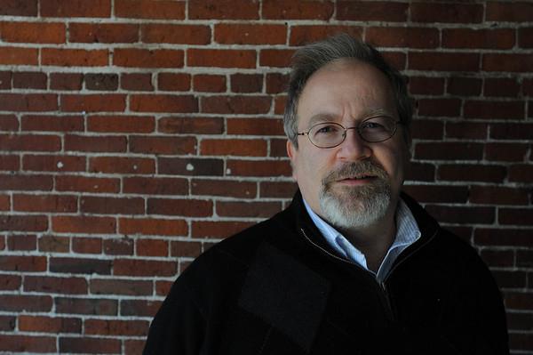 Salem:<br /> Matt Caruso is lead organizer of Salem Jazz & Soul Festival. <br /> Photo by Ken Yuszkus/Salem News, Monday, January 31, 2011.