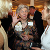 Danvers: Joanne Holbrook Patton, talks with Carin Kale and Jennifer Scuteri, at The Essex Heritage Award ceremony that was given to Joanne Holbrook Patton and the Patton Family on Wednesday evening at Danversport Yacht Club. David Le/Salem News