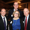 Danvers: From left, Ian Weiss, Wendy Waller, Doug Gordon, and Paul Clifford, at The Essex Heritage Award ceremony that was given to Joanne Holbrook Patton and the Patton Family on Wednesday evening at Danversport Yacht Club. David Le/Salem News