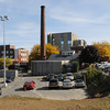 Salem:<br /> Salem Hospital showing the power plant in the center of the photograph. New buildings will occupy this area of the hospital.<br /> Photo by Ken Yuszkus, The Salem News,  Wednesday, October 09, 2013.