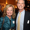 Danvers: Ellen Shain, and Rick Marshall at The Essex Heritage Award ceremony that was given to Joanne Holbrook Patton and the Patton Family on Wednesday evening at Danversport Yacht Club. David Le/Salem News