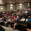 Ipswich: A little more than 200 people filed into the auditorium at Ipswich High School for Town Meeting on Tuesday evening. David Le/Salem News