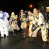 Salem: The Ghostbusters enjoy Halloween evening in downtown Salem. David Le/Salem News