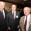 Salem: From left, Tom Alexander, Roy Gelineau, and Beverly Mayor Bill Scanlon, on Thursday evening during a cocktail hour prior to the start of a dinner held at the Kernwood Country Club by the Anti-Defamation League of New England to honor District Attorney Jonathan Blodgett. David Le/Salem News