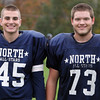 Middleton: North Shore Tech seniors Luke Popolowski (DE/OL) and Charles Self (OL/DT). David Le/Salem News