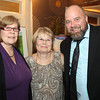 Danvers: From left, Ellen Lees, Pam Dedeo, and Peter Nichols, at The Essex Heritage Award ceremony that was given to Joanne Holbrook Patton and the Patton Family on Wednesday evening at Danversport Yacht Club. David Le/Salem News