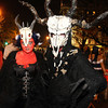 Salem: Nicka Petruccio, and Jonathan Mancz, of Cleveland, OH, made the trip to Salem for the Halloween festivities. David Le/Salem News