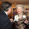 Danvers: Joanne Holbrook Patton, talks with Bill Loring, of Beverly Farms, at The Essex Heritage Award ceremony that was given to Joanne Holbrook Patton and the Patton Family on Wednesday evening at Danversport Yacht Club. David Le/Salem News