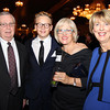 Danvers: From left, Joe Palmer, Ingmar Patton-Plusczyk, Helen Patton, and Nancy Palmer at The Essex Heritage Award ceremony that was given to Joanne Holbrook Patton and the Patton Family on Wednesday evening at Danversport Yacht Club. David Le/Salem News