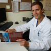 Dr. Bojan Zoric, Official Team Physician for the 2012 US Women's Soccer Team is traveling to London next week with the team for the Olympics. Zoric performed arthroscopic hip surgery on former Peabody High School soccer star Alyssa Manoogian and helped her get back on the pitch for her senior season at Colgate University. David Le/Staff Photo