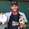 Nashua Silver Knights pitcher Lamarre Rey is a 2009 graduate of Pingree. David Le/Staff Photo