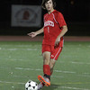 Masco junior Michael Ennis (8) passes to a teammate against Greater New Bedford on Tuesday night. David Le/Salem News