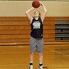 Ipswich's Julia Davis goes up for a layup at practice. David Le/Salem News