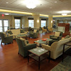Large common area on the first floor of the Waldfogel Health Center. David Le/Staff Photo