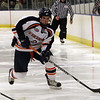 Salem State foward Kyle Phelan (2) takes a shot on net against Plymouth State on Thursday. David Le/Salem News