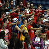 Masco fans cheer on their team during the D1 North Final at the Tsongas Center against Andover on Saturday afternoon. David Le/Staff Photo
