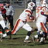 Beverly running back Dom Abate (5) breaks free for a long touchdown run against Salem on Thanksgiving Day. David Le/Salem News