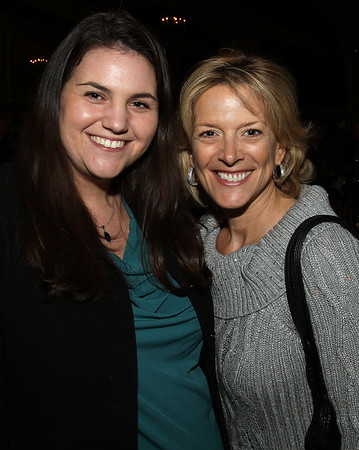 Robyn Pregent, left, and Publisher Karen Andreas from The Salem News. David Le/Salem News