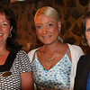 Marblehead: From left, Dee Vigneron, Julia Helen-Clapper, and Marcia Lewis, attended a business breakfast forum with a presentation by Margaret Somer, regional director of the Massachusetts Small Business Development Center, held at Jack Tar's American Tavern in Marblehead Wednesday morning. Photo by David Le/Salem News