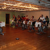 Members of the Salem Rotary spin during the second session of the YMCA's 3rd Annual Spin-A-Thon to raise money for Y for All, which provides Y memberships for low-income families. Over the past two years the Spin-A-Thon has raised over $10,000. David Le/Salem News