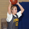 Peabody: Bishop Fenwick tri-captain Alicia Valette looks to pass the ball at practice on Wednesday night. David Le/Salem News