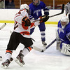 Salem: Beverly's Connor Irving beats Danvers goalie Seth Kamens with a wrist shot on Friday. David Le/Salem News