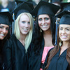 North Shore Community College soon-to-be graduates from left, Christina Makridis, Sabrina Smith, Megan Schwartz, and Maria Bechman, pose for a photo before marching into the O'Keefe Center for their Commencement Ceremony on Thursday evening. David Le/Staff Photo<br /> , North Shore Community College soon-to-be graduates from left, Christina Makridis, Sabrina Smith, Megan Schwartz, and Maria Bechman, pose for a photo before marching into the O'Keefe Center for their Commencement Ceremony on Thursday evening. David Le/Staff Photo<br />