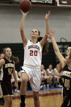 Marblehead's McKenna Barret (20) goes up for a layup. David Le/Salem News