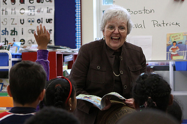 Salem: Ana Hanton, Principal of the Nathaniel Bowditch School in Salem, is retiring at the end of the school year. Photo by David Le/Salem News