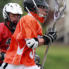 Beverly attackman Dom Abate streaks towards the net against Salem on Thursday. David Le/Staff Photo