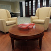 A common area on the first floor of the Waldfogel Health Center. David Le/Staff Photo