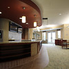 A cafe on the first floor of the Waldfogel Health Center that will be open to the public. David Le/Staff Photo