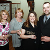 From left, Rhonda Sabbio, Holly Nahabedian, and Jennifer and Ronald Kocur at the 100th Anniversary Celebration of the Salem Chamber of Commerce. David Le/Staff Photo