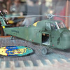Salem: This is a model of a Sikorsky H-34 helicopter that was piloted by Leland McDonough back during the Vietnam War when he rescued Rick Lindsey. Lindsey decided to present Leland with a model of this helicopter in front of family and friends at Cafe Graziani in Salem on Saturday evening. Photo by David Le/Salem News